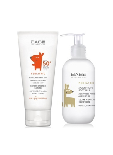 Babe Babe Pediatric Sunscreen SPF50+ Lotion 100ml Set Renksiz